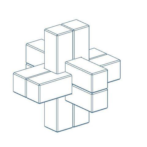 Download free 3D printer templates Mini Puzzle Puzzle, Bdz37