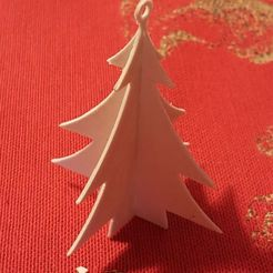 Download free STL files 3D Christmas tree, Bdz37