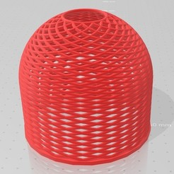 Impresiones 3D gratis Días de sombra helicoidal, Bdz37
