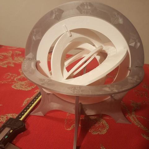 20181019_204519.jpg Download free STL file Armillary Sphere • 3D printable design, Bdz37