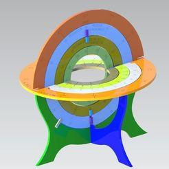 Free 3d printer files Armillary Sphere, Bdz37