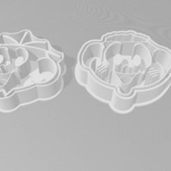 Impresiones 3D Cebolinha y Cascão - Turma da Mônica, EvelyneOfugi