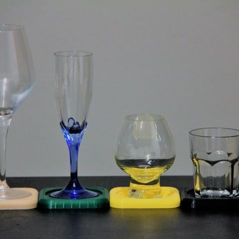 Free 3D printer files Coasters, Marc_Gali