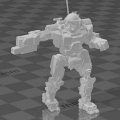 COM-1A - Walk.jpg Download free STL file The Arnold FightMech Collection of CommissarHarris • Model to 3D print, CaptainFathom
