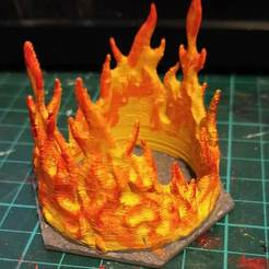 IMG_20190601_205813.jpg Télécharger fichier STL gratuit Hexagone de feu • Plan pour impression 3D, CaptainFathom