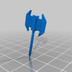 Axman_Ax.png Download free STL file Lost Mech Collection - DarthApple47 - 1 of 2 • 3D printing object, CaptainFathom