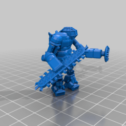 DigLord_Pose1.png Download free STL file Not my Industrial Mechs • 3D printing model, CaptainFathom