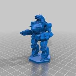 6cce2a652e79b18492c4ab728fb6db00_preview_featured.jpg Download free STL file The Minimalistix FightMech Collection • 3D printing template, CaptainFathom