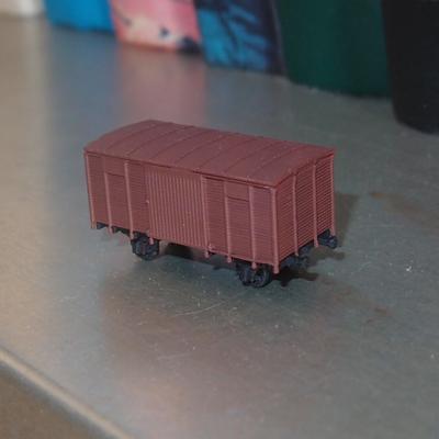 NTV2002.png Download free STL file Boxcar 1:200 • 3D printing template, polkin