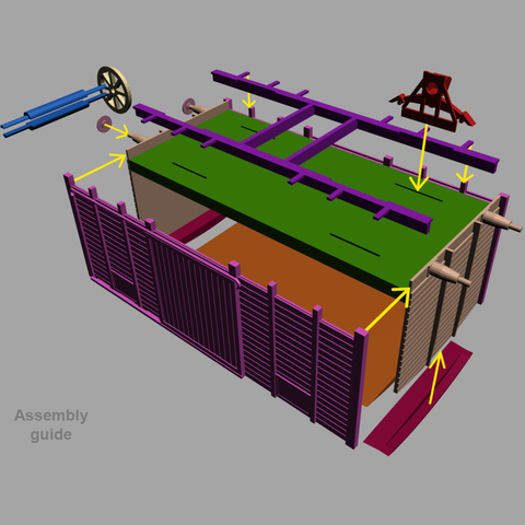 GuideC2.png Download free STL file Simple boxcar • Design to 3D print, polkin