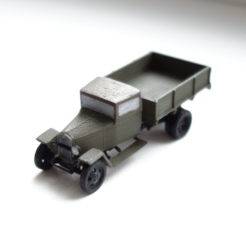 Download free 3D printer designs GAZ-MM-V wartime truck 1:87 (H0), polkin