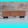 Free 3D printer model SZHD/RZHD boxcar 1:87 (H0), polkin