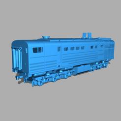 3TAE10M87-Aq.png Download free STL file 3TE10M diesel locomotive • 3D printer model, polkin