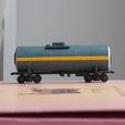 Télécharger objet 3D gratuit Wagon-citerne pour caprolactam 1:200, polkin