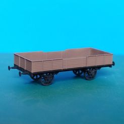 Download free STL file Coal gondola 1:87 (H0) • 3D printable object, polkin
