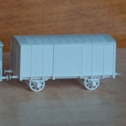 Download free STL Simple boxcar, polkin