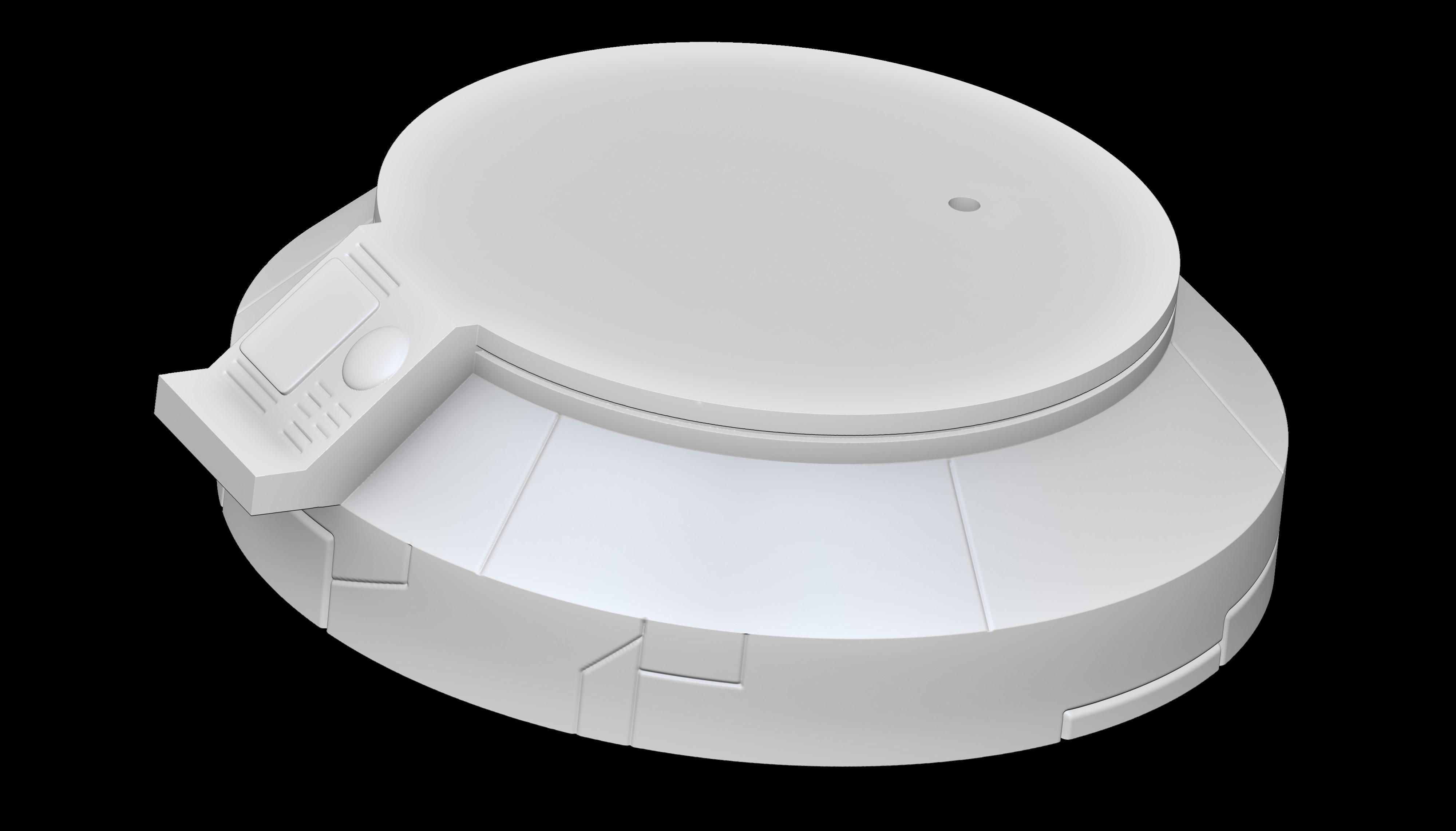 Render 11.jpg Download STL file Dragon Ball GT Baby • 3D print object, Shukito