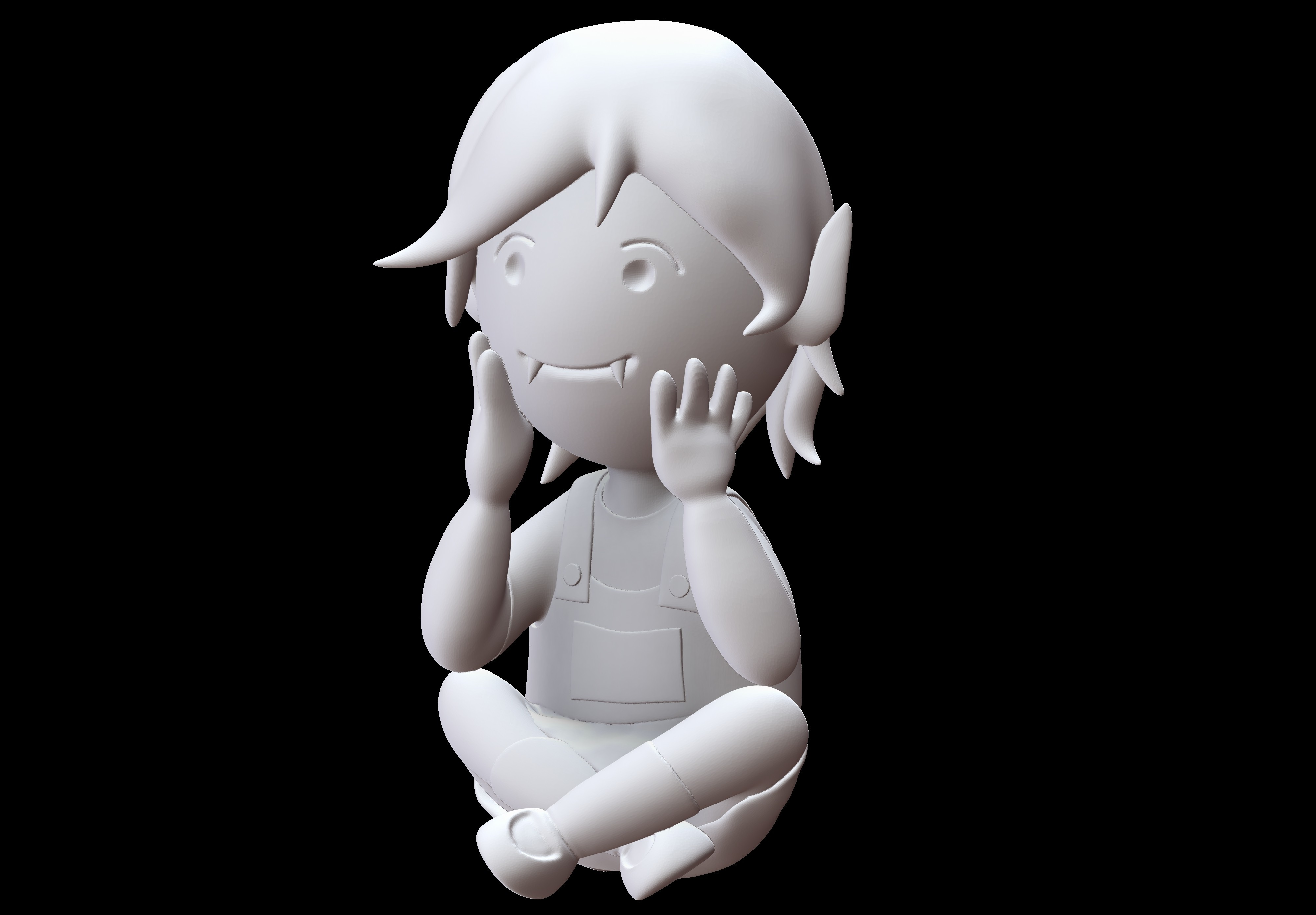 Render 7.jpg Download STL file Adventure Time Diorama • 3D printer design, Shukito