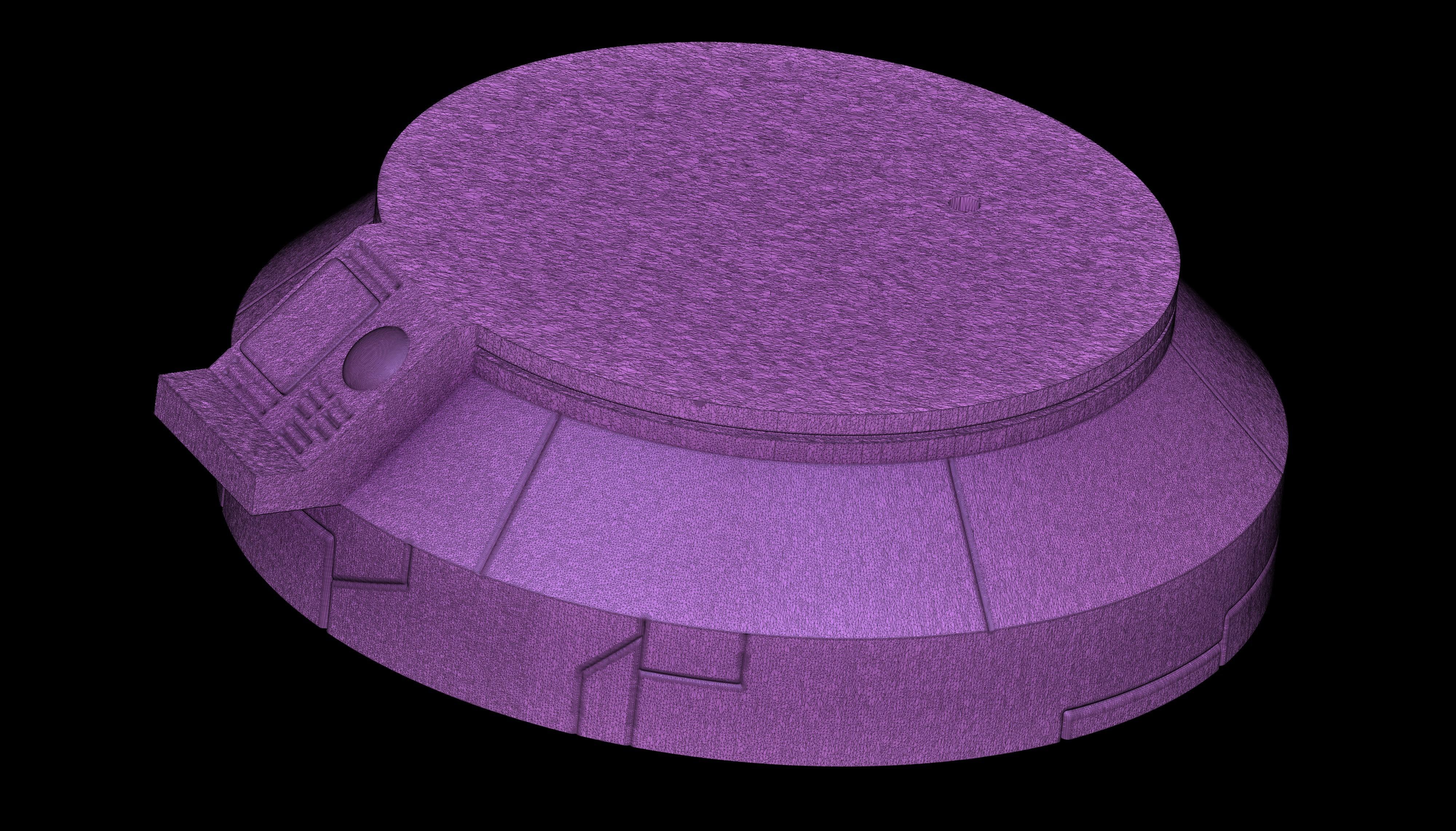 Render 12.jpg Download STL file Dragon Ball GT Baby • 3D print object, Shukito