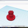 Free 3D printer files Gearing part, piaillard