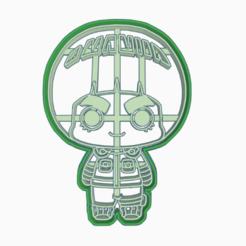 Descargar archivo 3D ROCK LEE - COOKIE CUTTER / NARUTO SHIPPUDEN , WILMERESCOBAL