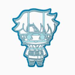 Descargar modelos 3D MITSUKI - COOKIE CUTTER BORUTO NARUTO NEXT GENERATIONS, WILMERESCOBAL