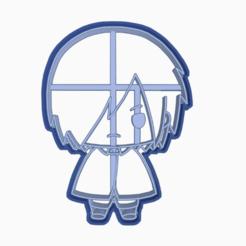 Descargar modelos 3D para imprimir SASUKE UCHIHA - COOKIE CUTTER BORUTO NARUTO NEXT GENERATIONS, WILMERESCOBAL