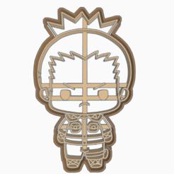 Descargar archivo 3D SHIKAMARU NARA - COOKIE CUTTER / NARUTO SHIPPUDEN , WILMERESCOBAL