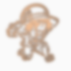 Download 3D printing files LUFFY 3 - COOKIE CUTTER ONE PIECE ANIME CHIBI, WILMERESCOBAL