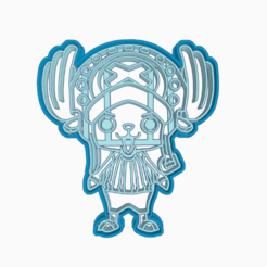 WAWGG.png Download STL file TONY TONY CHOPPER - COOKIE CUTTER ONE PIECE ANIME CHIBI / COOKIE CUTTER • 3D printable design, HIPERWIL