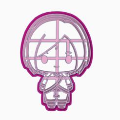 Descargar modelo 3D SAKURA HARUNO - COOKIE CUTTER BORUTO NARUTO NEXT GENERATIONS, WILMERESCOBAL