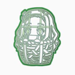 adwdad.png Download STL file DEMON SLAYER'S KIMETSU NO YAIBA - NEZUKO COOKIE CUTTER 3 • 3D printer template, HIPERWIL