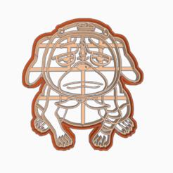 Descargar modelo 3D gratis PAKKUN - COOKIE CUTTER / NARUTO SHIPPUDEN , HIPERWIL