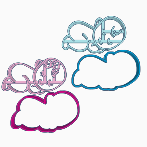 WERQWEEQWT.png Download STL file BABY COOKIE CUTTER • 3D printable model, SinTiempoLibre