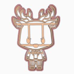 Download 3D printing designs LOUIS - COOKIE CUTTER / ANIME / BEASTARS, HIPERWIL