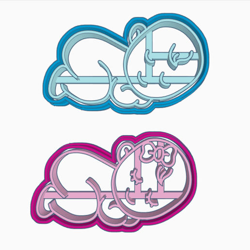 W42345345.png Download STL file BABY COOKIE CUTTER • 3D printable model, SinTiempoLibre