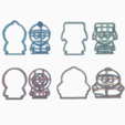 Download 3D printing templates PACK 4 SOUTH PARK - COOKIE CUTTER, HIPERWIL
