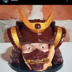 samurai 1.jpg Download STL file MATE AND SAMURAI CUP • Model to 3D print, cesarallende092