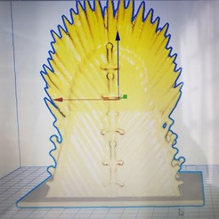 Download free 3D printing designs iron throne pen, cesarallende092