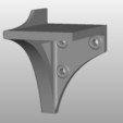 Download free 3D printer designs Shelf Brackets for Removable Shelves, bramv