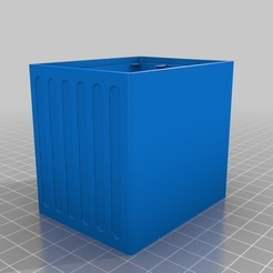 Download free 3D printer model Stackable Resistor Storage Box 3 Drawers, bramv