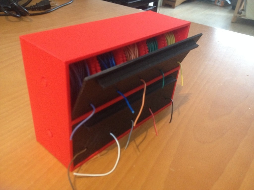 0cca99237066a726f772cd6cc5484caa_display_large.JPG Download free STL file Wire Spool Holder Box / Dispenser • 3D printable model, bramv