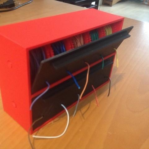 Télécharger STL gratuit Porte-bobines en fil métallique / Distributeur, bramv