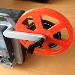 Download free 3D printer templates Super 8, Standard 8mm, and 16mm Film Reel Generator, bramv