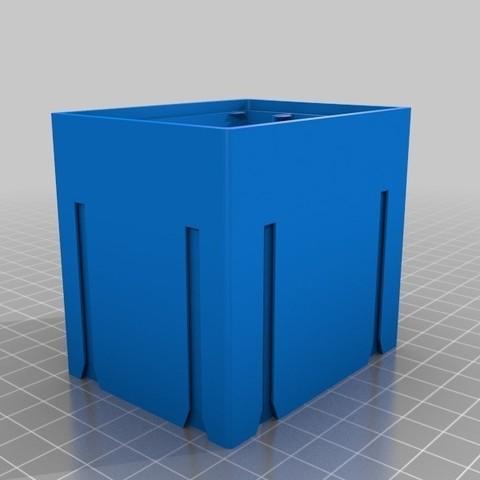 Download free STL file Customized Stackable Resistor Storage Box 3 Drawers, bramv