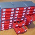 Free stl files Stackable Resistor Storage Box, bramv