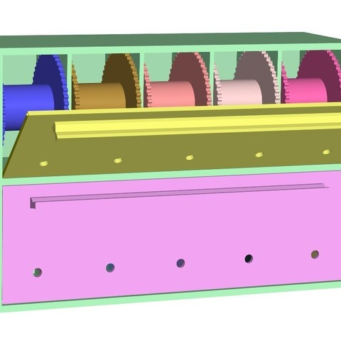 1a5b2346aac03eb6e8ffb498e864a032_display_large.jpg Download free STL file Wire Spool Holder Box / Dispenser • 3D printable model, bramv