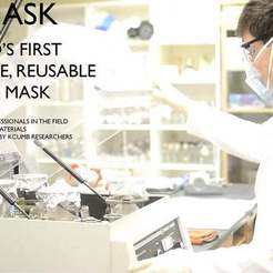 Download free 3D printer files Sani-Mask : The world's first fully sterilizable 3d printed mask, drumguy560