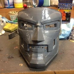 Download free 3D printer files Dr Doom Mask Smoothed, drumguy560