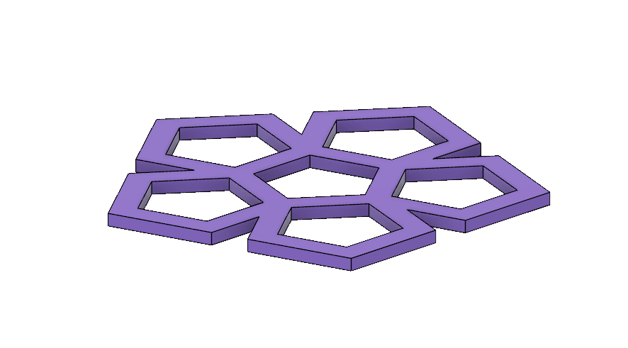 Pentagon 2.PNG Download STL file Coaster Set (Geometric Shapes and Scribbles) • Design to 3D print, httpkoopa